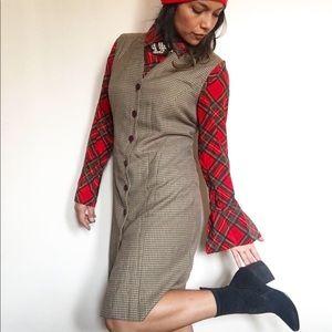 Vintage Worthington houndstooth dress